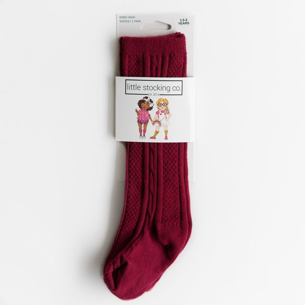 Ruby Knee High Socks