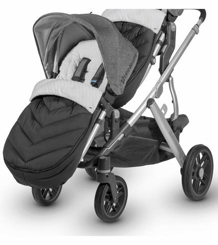 UPPAbaby RumbleSeat Cozy Ganoosh Footmuff in Jake (Black)