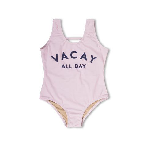 Scoop Swimsuit in Vacay All Day