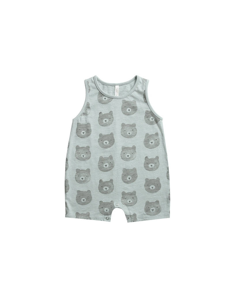 Sleeveless Onepiece in Bears by Rylee + Cru PREORDER