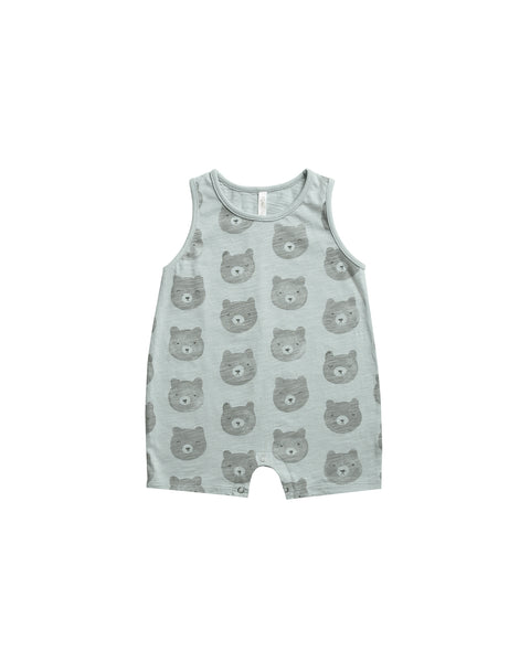 Sleeveless Onepiece in Bears by Rylee + Cru
