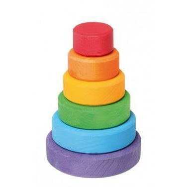 Small Rainbow Conical Tower by Grimm's