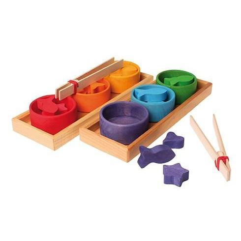 Sorting Game Rainbow Bowls by Grimm's