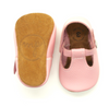 The Original Soft-Soled T-Strap in Sweet Pink