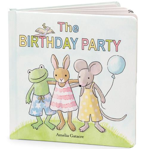 The Birthday Party Book by Jellycat
