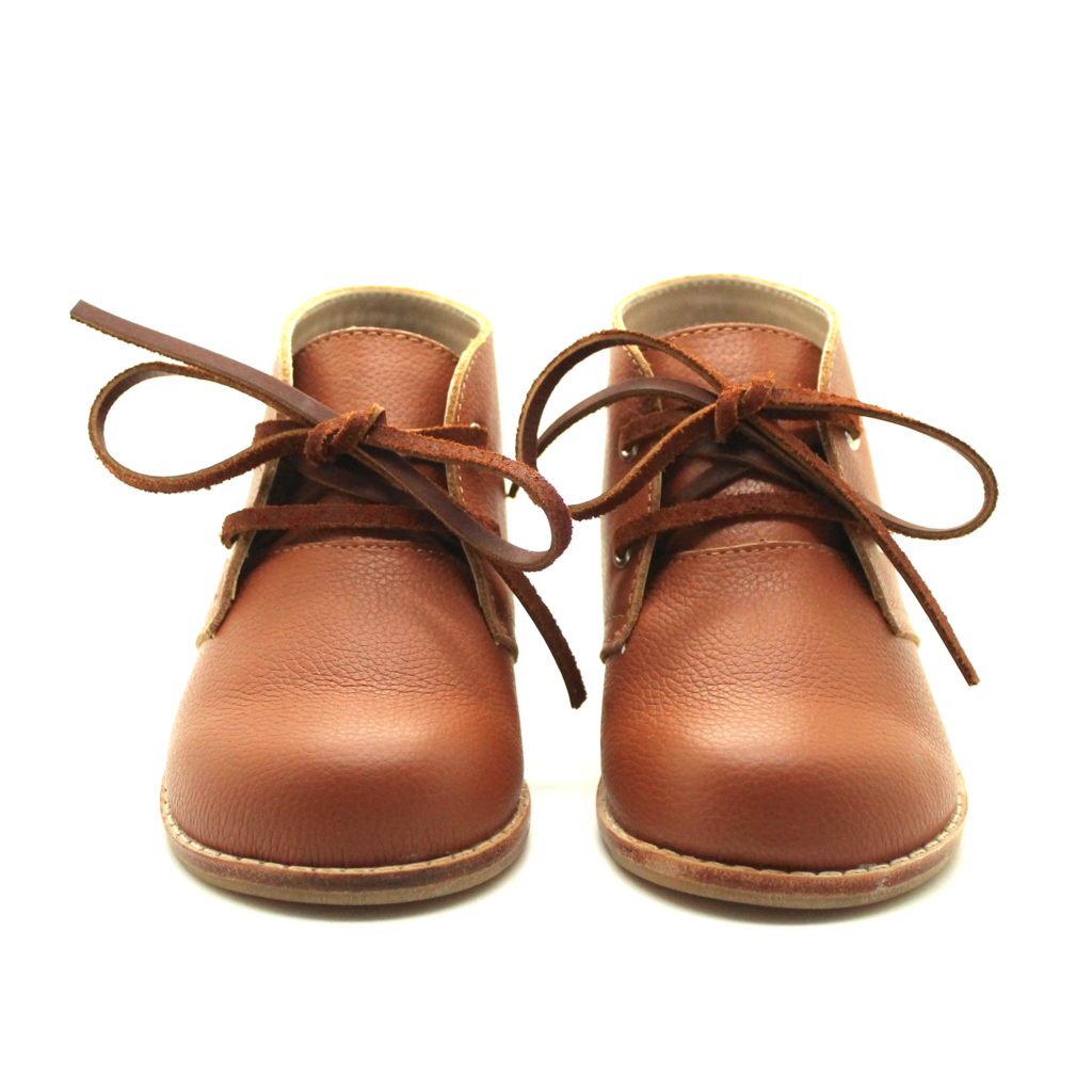 The Hard Soled Oxford in Cognac