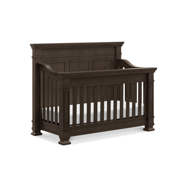 Tillen 4-in-1 Convertible Crib in Truffle
