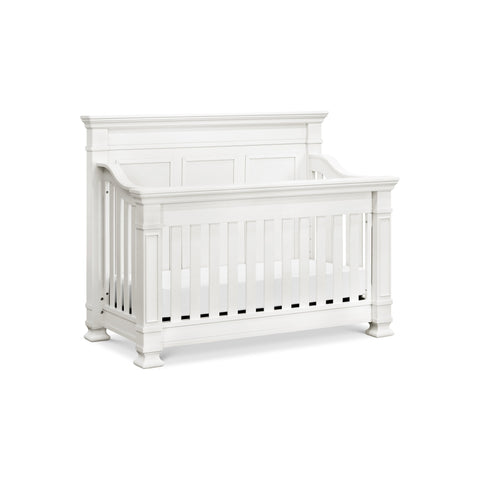 Tillen 4-in-1 Convertible Crib in Warm White
