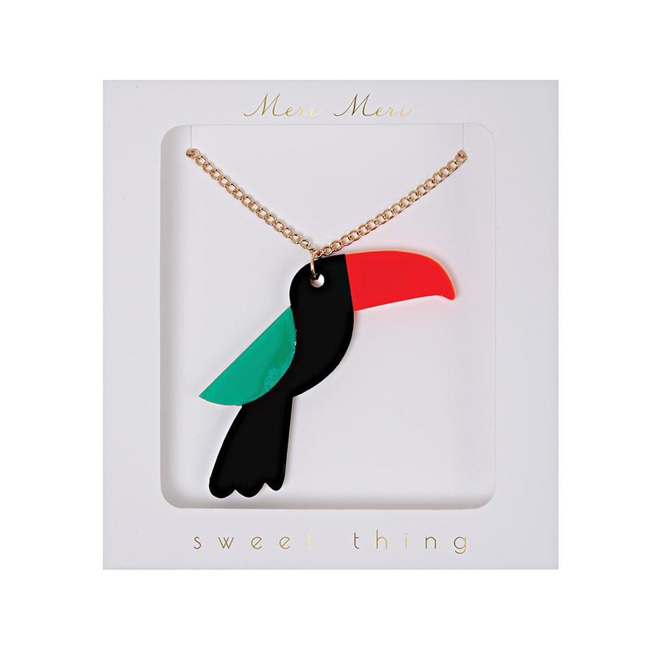 Toucan Necklace