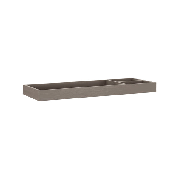 Universal Wide Removable Changing Tray in French Roast