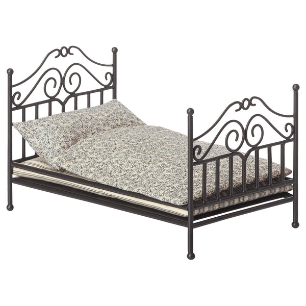 Vintage Bed Micro in Anthracite