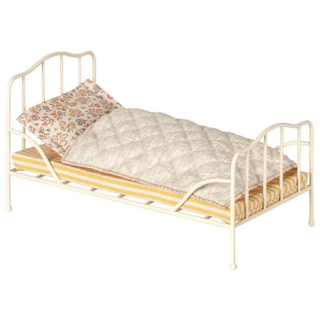 Vintage Bed Mini in Off White by Maileg