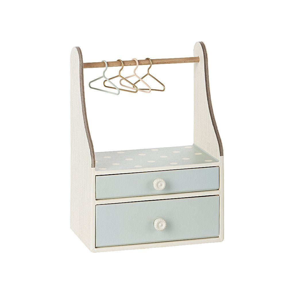 Wardrobe Dresser in Mint by Maileg