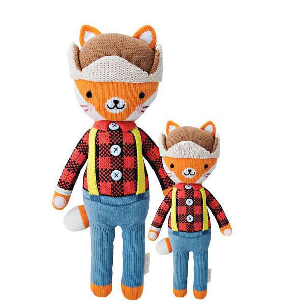 "Wyatt The Fox in Little 13"" by cuddle + kind"