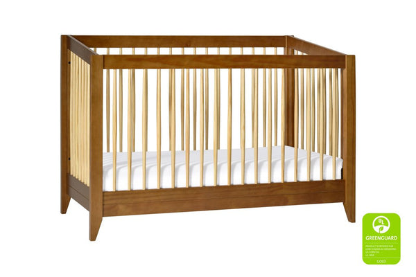 Sprout 4 in 1 Convertible Crib with Toddler Bed Conversion Kit Available in a Variety of Colors
