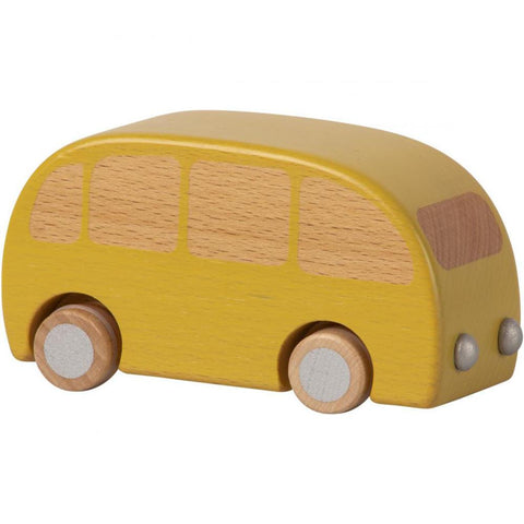 Yellow Wooden Bus by Maileg