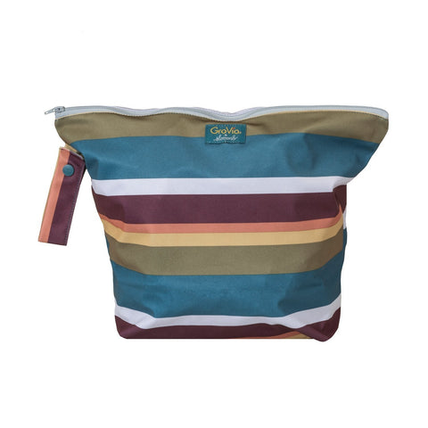 Zippered Wet Bag in Jewel