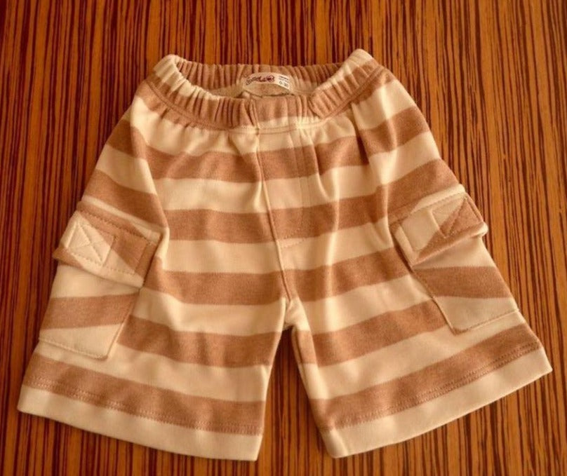 Short Cargo Rayas Nativo