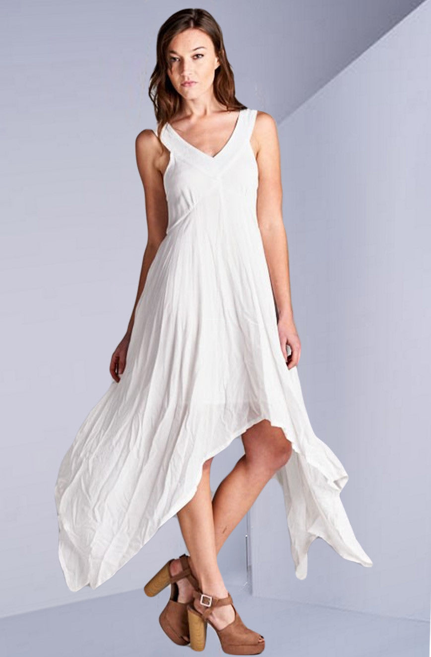 Abbot Kinney White Maxi Dress