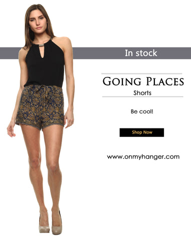 Going Places Shorts