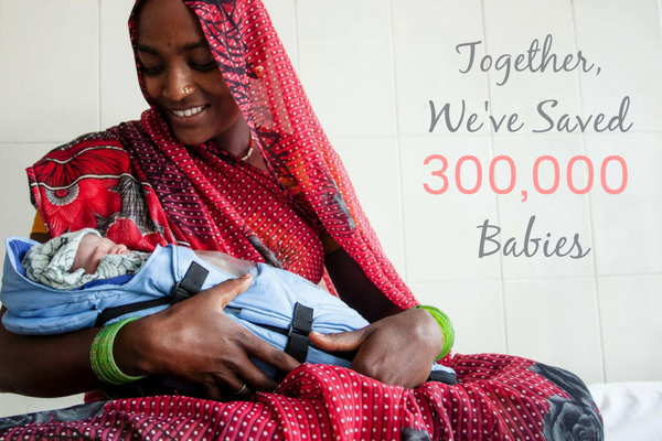 Together, We've Saved 300,000 Babies