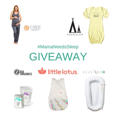 #MamaNeedsSleep Giveaway Products