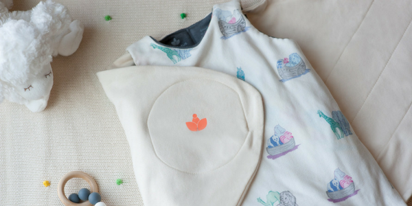 Travel with Little Lotus swaddle