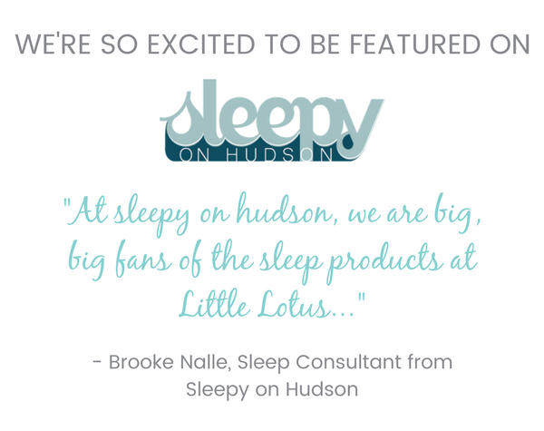 We're featured on Sleepy on Hudson