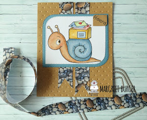 Special Delivery - Snailmail Card by Margreet