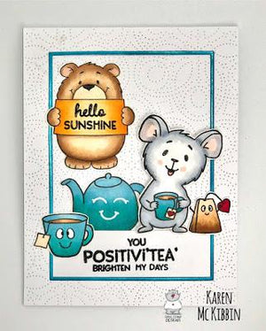 Positivi-Tea Friendship Card