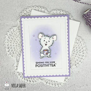 Sending You Some POSITIVI'TEA by Noga Shefer