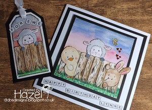 Easter Lambs Tag and Card...