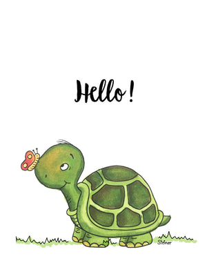 June's Challenge - Hello Friend Turtle