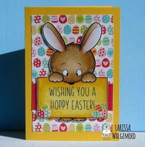 Wishing you a hoppy easter! - Larissa
