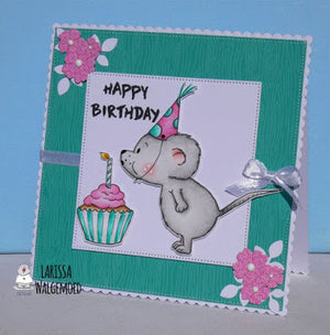 Cupcake Mouse Card  by Larissa