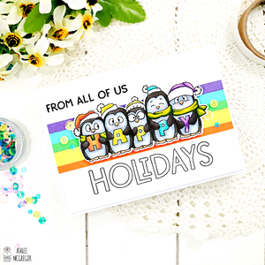 Happy holiday penguins....!!