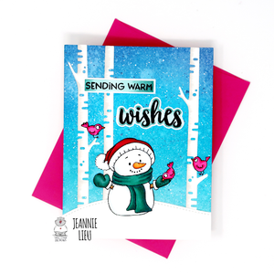 Sending warm wishes - Card by InsideoutJeans