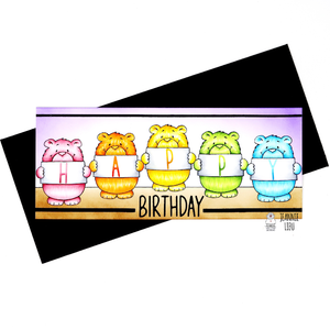 Hello Sunshine - Rainbow Bears Card bye Jennie