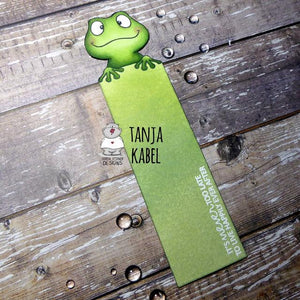 Frog Bookmark by Tanja