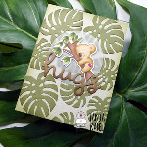 Hugs - Koala Card by Tanja