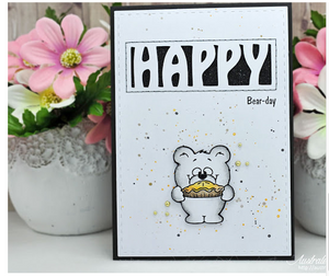 Guest Design - Happy Bear-Day by Australe Créations