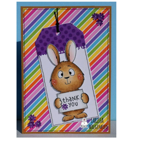 Easter Bunnies/Digital Stamp Bundle - Larissa