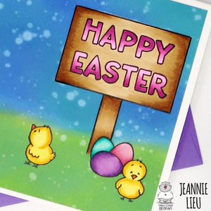 Happy Easter Card by Jeannie