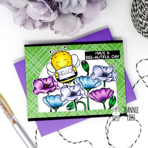 Hello! Have a bee-autiful Day - Card by Jeannie