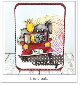 Cardmaking_Birthday_Card_Safari_fun_animals_papercrafting