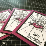 Bats and Spiders Clear Stamp Gerda Steiner Designs gsd-stamps