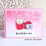 Buckets of Love 4x6 Clear Stamp Set Gerda Steiner Designs gsd-stamps.com