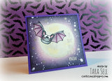 Bats and Spiders Clear Stamp Set Gerda Steiner Designs gsd-stamps