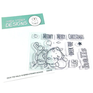 Deck the Halls 3x4 Clear Stamp Set
