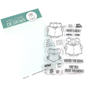 What's new? 4x6 Clear Stamp Set